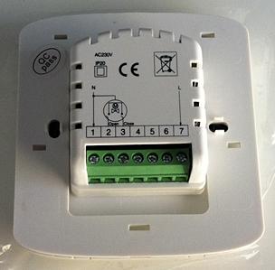 dimstal raumthermostat digital thermostat wochenprogramm mit 6 zeitperioden ebay. Black Bedroom Furniture Sets. Home Design Ideas