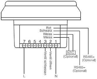 m dimstal raumthermostat digital thermostat 7 tage programm mit 6 zeitperioden ebay. Black Bedroom Furniture Sets. Home Design Ideas
